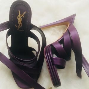 Authentic YSL Sandals